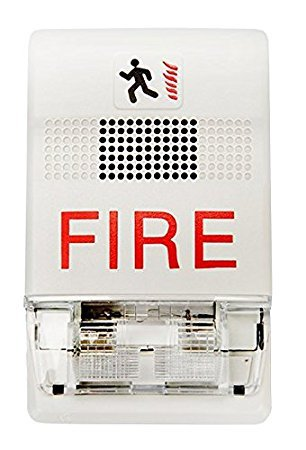 EST Edwards G1F-HD Genesis Indoor Wall-Mount Temporal Horn Audible Fire (Fire Alarm Horn)