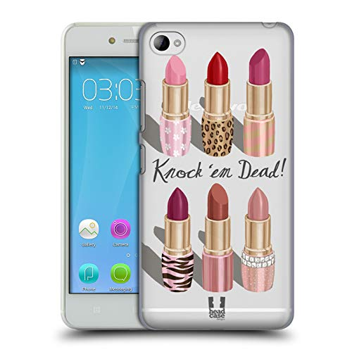 Head Case Designs Lipstick Collection Makeup Obsession Hard Back Case for Lenovo S90 Sisley