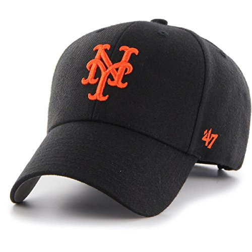 New York Mets Black Wool - '47 Brand Relaxed Fit Cap - MVP New York Mets black