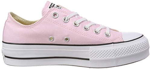 White Femme Converse Rose Cherry Black Blossom Ox Baskets Lift CTAS qwXwr68O