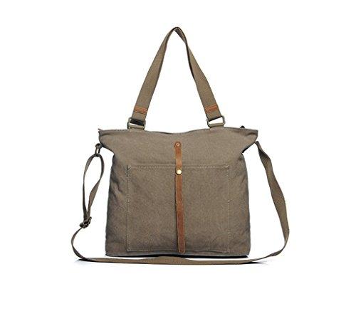 Sucastle Retro Tasche lässig Tasche Schultertasche Messenger Bag Tragetasche Sucastle Farbe: armygrün Größe: 39x16x13cm