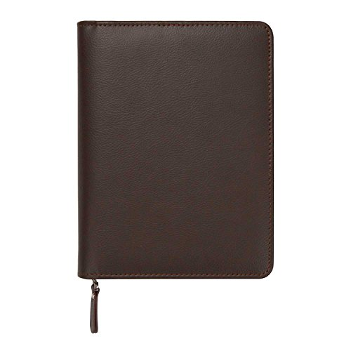 C.R. Gibson Office Supplies Zipper Leatherette Journal with Full Metal Zipper Closure, 352 Pages