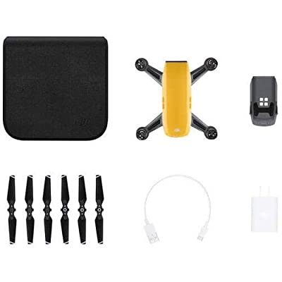 DJI Spark, Mini Drone, Sunrise Yellow: Camera & Photo