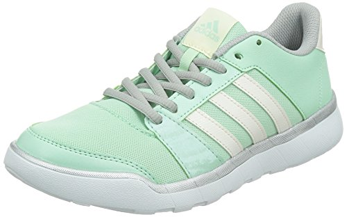 adidas Essential Fun W - Zapatillas de Cross Training Para Mujer Verde / Plata / Blanco