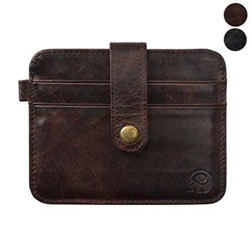 Franterd Credit Card Holder Mini Wallet ID Case - Mens Wallets Couch