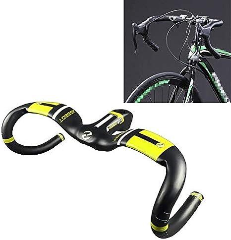 N/A Manillar de Bicicleta XJ UD Fibra de Carbono Ultraligero ...