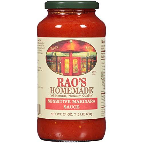 Rao's Homemade Marinara Sensitive Formula Sauce, 24 Oz Jar, 3 Pack ()