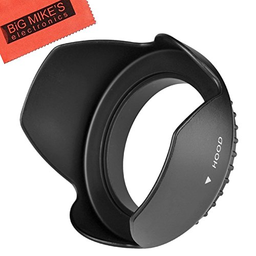 49mm Tulip Flower Lens Hood for Canon EF 50mm f/1.8 STM Lens