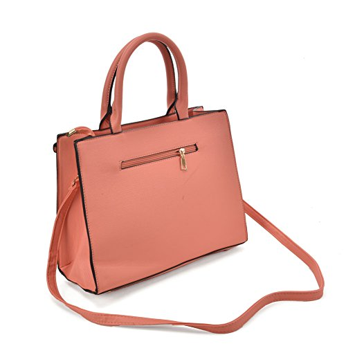 Tote With Fashion Young Bag Women Strap Boxy Handbags Sally ladies Pink Shoulder Detachable cZ0wxTxqR