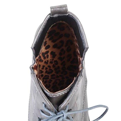 AIYOUMEI Classic AIYOUMEI Women's Classic Women's Boot Grey Grey AIYOUMEI Boot qnrCfwCPd
