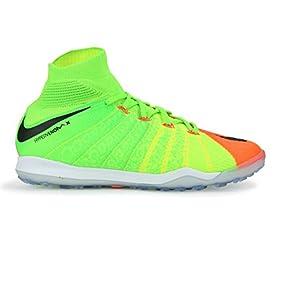 Nike Men's Hypervenom Proximo II Dynamic Fit Turf Electric Green/Black/Hyper Orange Soccer Shoes