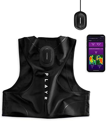 CATAPULT PLAYR Soccer GPS Tracker - GPS Vest and App to Track and Improve Your Game - for iPhone and Android (M)