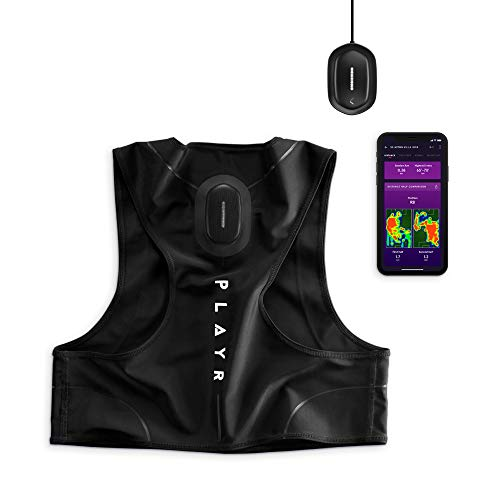 CATAPULT PLAYR Soccer GPS Tracker - GPS Vest and App to Track and Improve Your Game - for iPhone and Android (Youth) (Football Tracker)