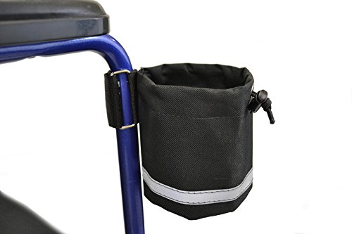 Unbreakable Cupholder for Wheelchair and Scooter Armrest - Vertival Grip