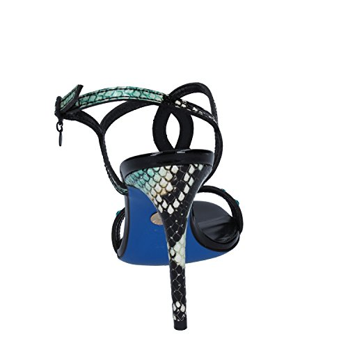 EU Woman Green 39 ROSSI UK SERGIO Leather Patent Strass 6 Sandals zRWqPwC