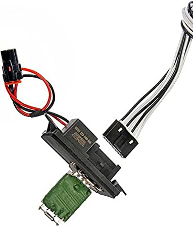 APDTY 084510 Blower Motor Speed Resistor /& Harness Pigtail Fits Numerous GM Models; Match vehicle To Compatabilty Chart To Ensure Exact Fitment Replaces 15305077, 15862656, 22807122, 89018597