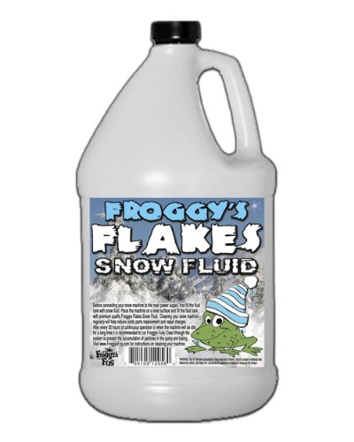 Extra Dry Snow Juice - Snow Machine Fluid - Most Popular Evaporative Formula - 1 Gallon - Great for Use in 400-2000 Watt Snow Machines (Snow Machine Mini compare prices)