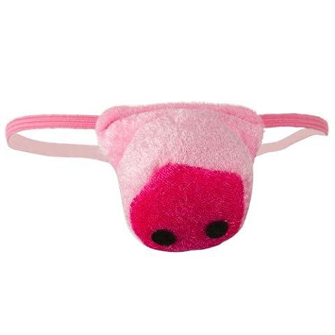 Jacobson Hat Company Women's Velvet Pig Nose, Pink, Adult - Pink Pig Hat
