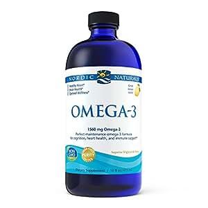 Nordic Naturals, Omega-3, Lemon, 1560 mg, 16 fl oz (473 ml)