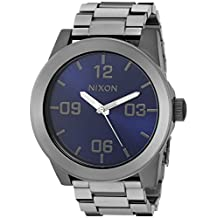 Nixon Men's A3462065 Corporal SS Analog Display Japanese Quartz Grey Watch