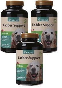 3 Packs of 60-Count NATURVET 978230 Tr Sr Bladder Support for Pets, 60-Count by NaturVet