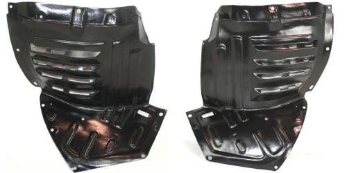 Go-Parts PAIR/SET OE Replacement for 2004-2008 Mazda Rx-8 Front Fender Liners (Splash Shields) Left & Right (Driver & Passenger) for Mazda RX-8