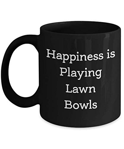 Lawn Bowls Coffee Mug - Gift for Lawn Bowls Lovers Teachers Students Player Women Men - Funny Valentines Birthday Thank You - Lawn Bowls Cup