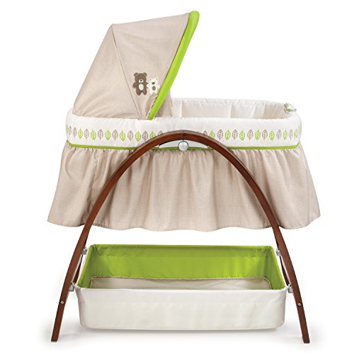 Summer Infant Products Bentwood Bassinet with Motion