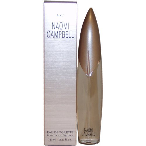 Naomi Campbell By Naomi Campbell For Women  Eau De Toilette Spray 2 5 Ounces
