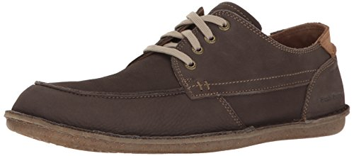 Hush Puppies Mens Arvid Rotolo Flex Oxford Nabuk Grigio