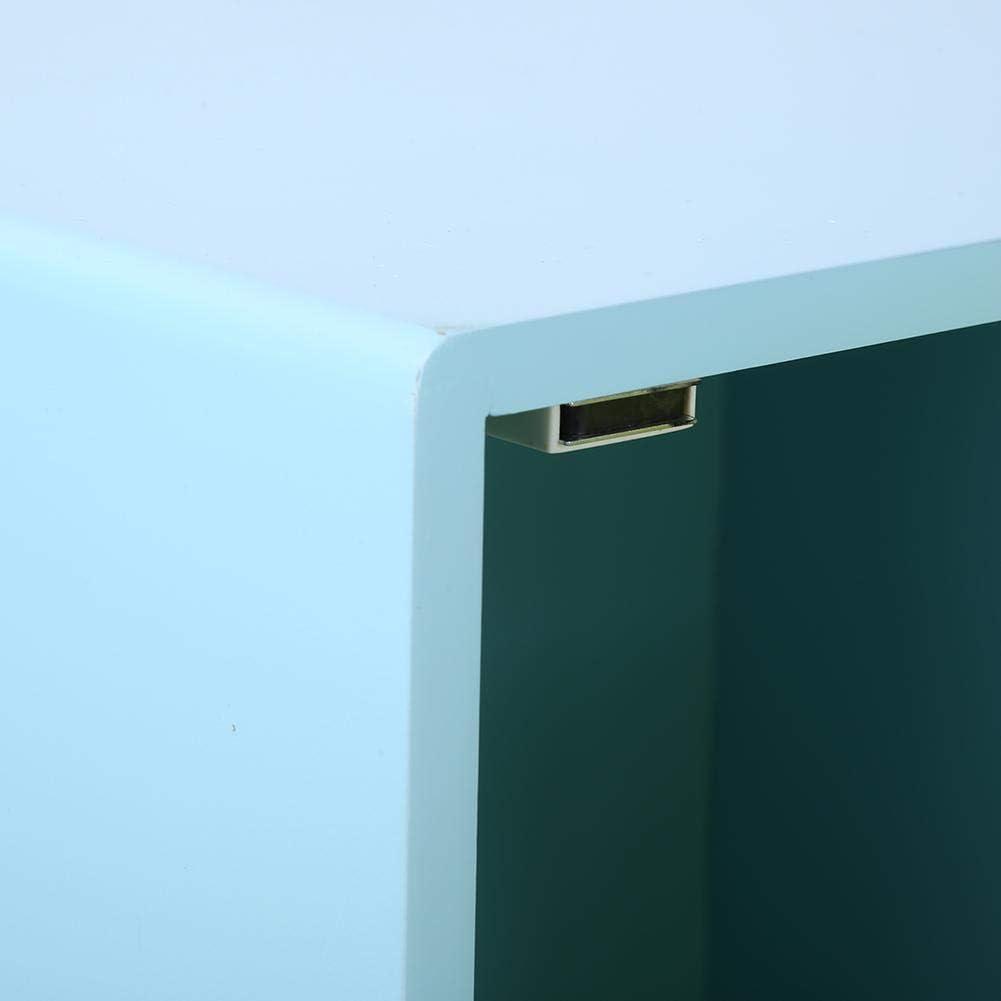 Cassapanca Giocattoli Legno con Porta Design a Stella Cava lyrlody Contenitore Giochi Bambini 35 x 30 x 39cm