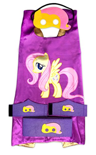 MyTinyHeroes Children's Costume - 5 Pc Set - My Little Pony - Fluttershy
