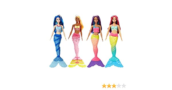 Amazon.es: Barbie Sirenas Dreamtopia Surtido/Modelos Aleatorios ...
