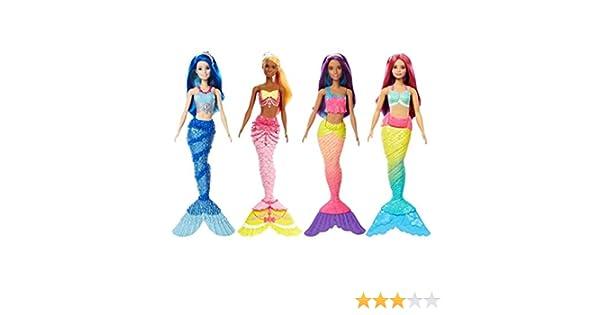Amazon.es: Barbie Sirenas Dreamtopia Surtido/Modelos Aleatorios ...