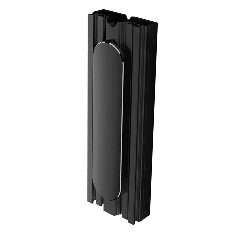 Shentesel M.2 SSD Cooler Solid State Disk Cooling Fin Radiator Heatsink Desktop Computer - Black