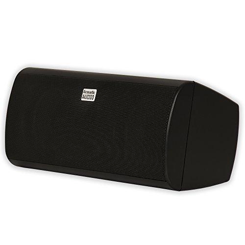 - Acoustic Audio AA35CB Indoor Center 3 Way Speaker 400 Watts Black Bookshelf