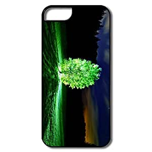 PTCY IPhone 5/5s Design Funny Glowing Tree