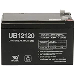 The BEST UPG Sla 12v 12ah .187 Tt from UPG