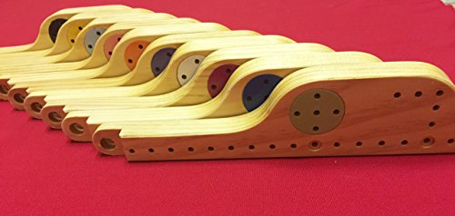Pegs and Jokers Solid Wood 10 Player Game