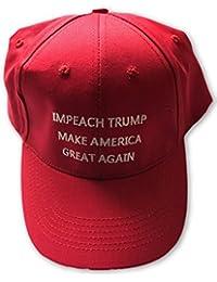 Impeach Trump Make America Great Again Adjustable Cap