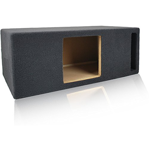 0.8 Cu. Ft. Ported/Vented MDF Sub Woofer Enclosure for Single Kicker L78 L7, L7S8 Solo-Baric L7S 8