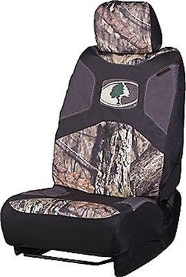 Mossy Oak Seat Covers (Mossy Oak Camo Seat Cover, Low Back, Black/Country, Single)