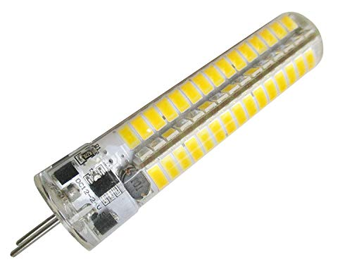GLMING GY6.35 7W 120-5730SMD LED Bulb Incandescent lamp Replacement DC12~24V AC12V Warm White Pack of 2 (Difference Between Soft White And Daylight Bulbs)