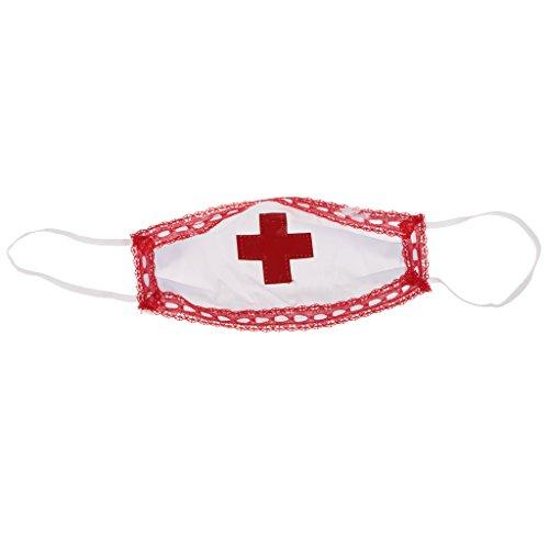 Traje Cosplay Disfraces de Fiesta Homyl Halloween de Enfermera Bachelorette de qdR5Y1