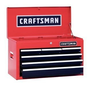 Craftsman Steel 6 Drawer Heavy Duty Top Tool Chest
