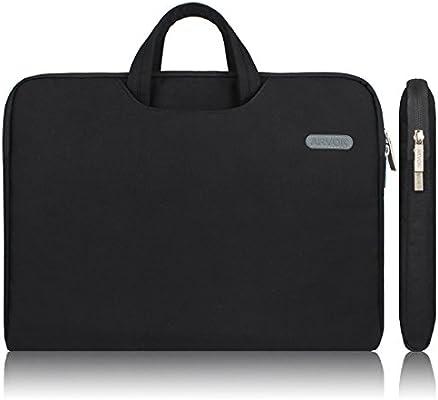 Arvok 15-15.6 Pulgadas Funda para Portátiles/Maletín Funda Bandolera para MacBook Pro Retina/MacBook Air/Protectora Funda Bolso para Acer/ASUS/ ...