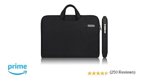 Arvok 15-15.6 Pulgadas Funda para Portátiles/Maletín Funda Bandolera para MacBook Pro Retina/MacBook Air/Protectora Funda Bolso para Acer/ASUS/ DELL/Lenovo/ ...