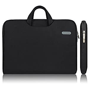 Arvok 13-13.3 Inch Canvas Laptop Sleeve With Handle & Zipper Pocket Water-resistant Notebook Computer Case/Ultrabook…