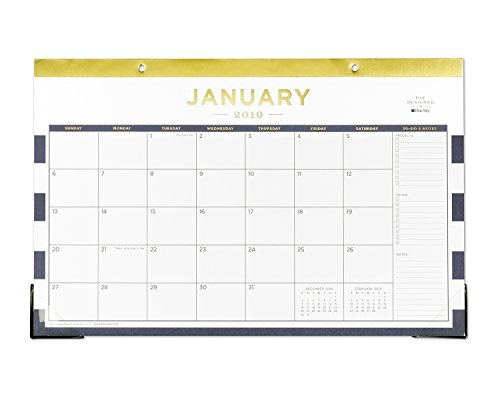 - Day Designer for Blue Sky 2019 Monthly Desk Pad Calendar, 17