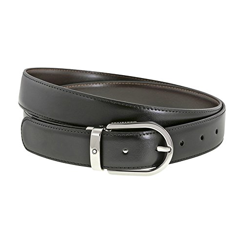 Mont Blanc 'Casual Line' Men's Reversible Belt - 38157 by MONTBLANC